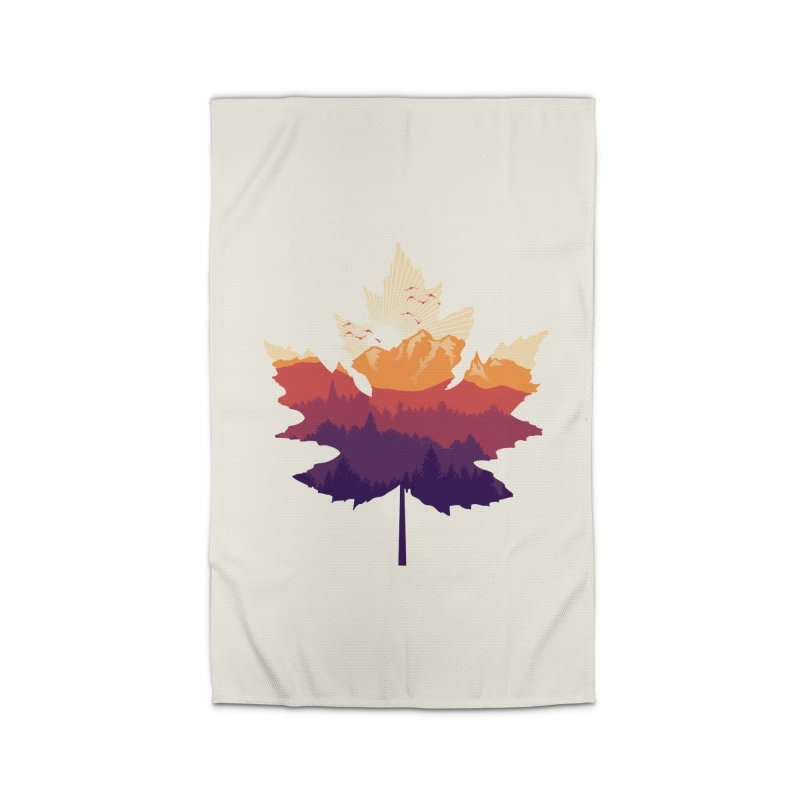 Leafscape Home Rug by Dianne Delahunty's Artist Shop