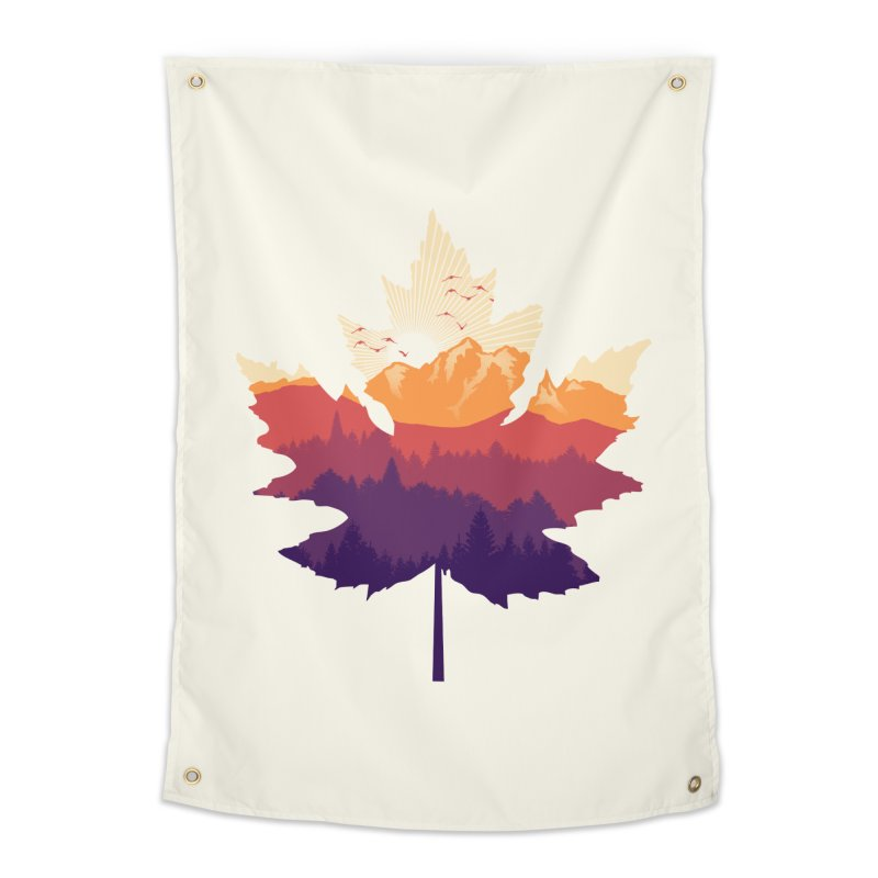Leafscape Home Tapestry by Dianne Delahunty's Artist Shop