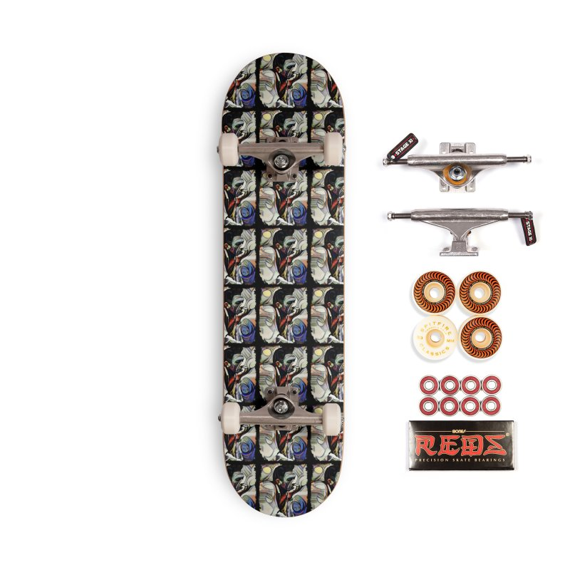 Man in Black by Dianne ❤ Accessories Skateboard by Design's by Dianne ♥
