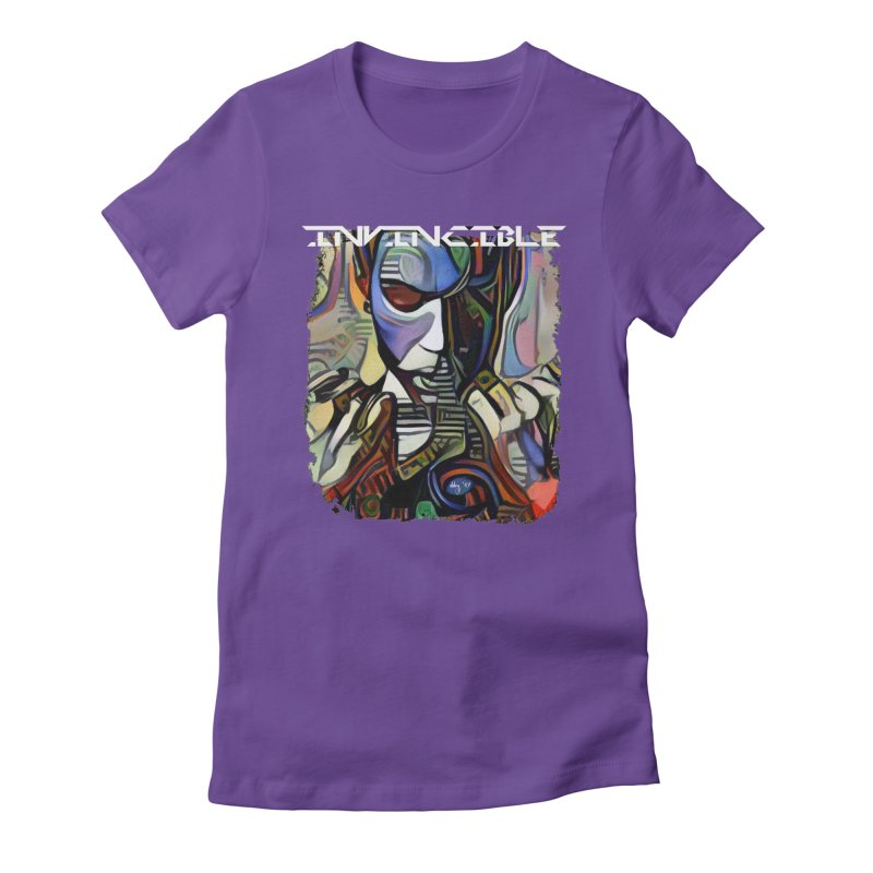 Invincible by Dianne ❤ Women's Fitted T-Shirt by Design's by Dianne ♥