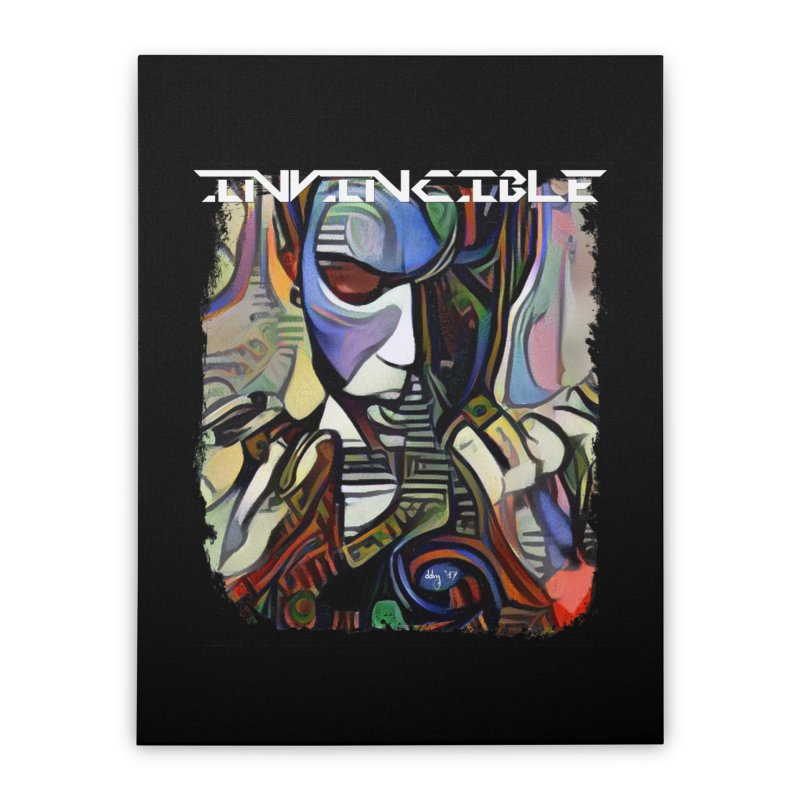 Invincible by Dianne ❤ Home Stretched Canvas by Design's by Dianne ♥