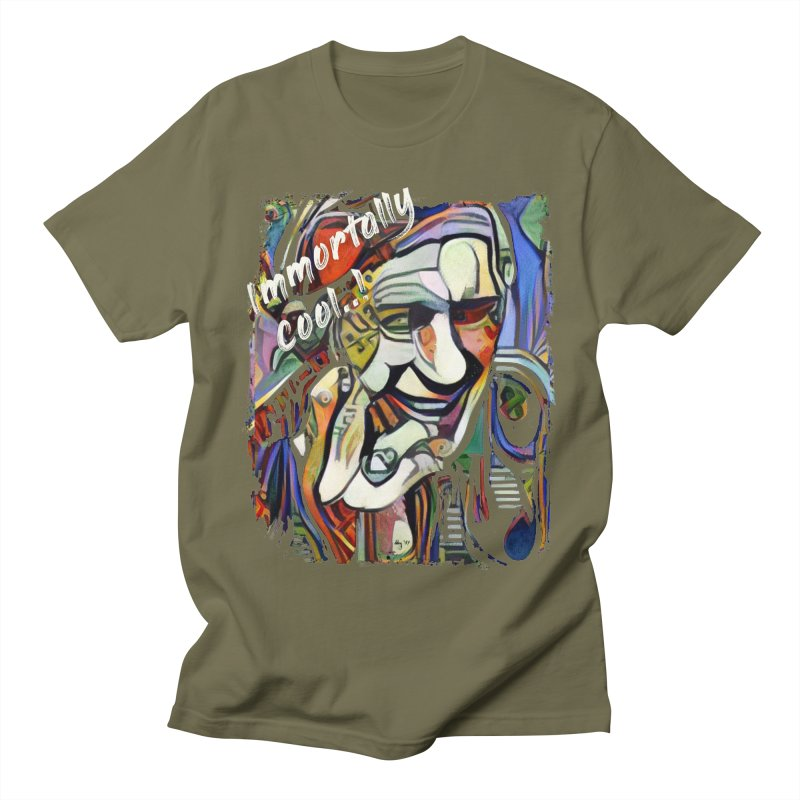Immortally Cool by Dianne ❤ Men's Regular T-Shirt by Design's by Dianne ♥