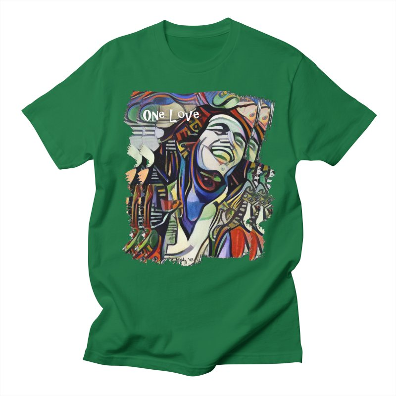 One Love by Dianne ❤ Men's Regular T-Shirt by Design's by Dianne ♥