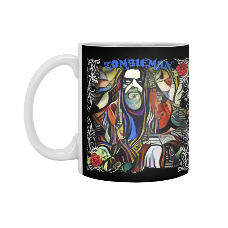 Zombieman by Dianne Accessories Standard Mug by Design's by Dianne ♥