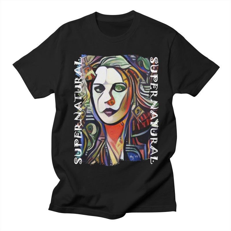 Supernatural Border-less Men's Regular T-Shirt by Design's by Dianne ♥