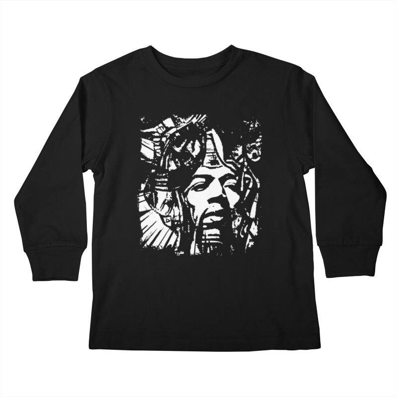 Voodoo Chile by Dianne ❤ Kids Longsleeve T-Shirt by Design's by Dianne ♥