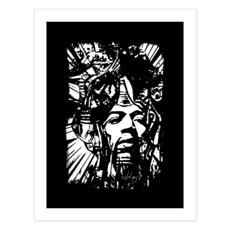 Voodoo Chile by Dianne Home Fine Art Print by Design's by Dianne ♥