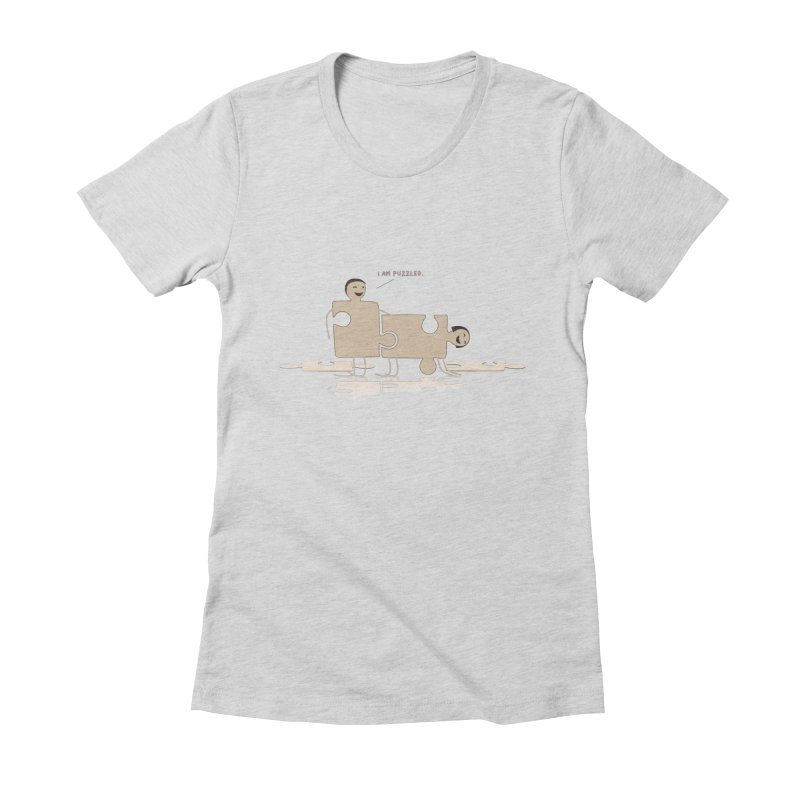 Solving the puzzle, gone wrong. Women's T-Shirt by Diardo's Design Shop