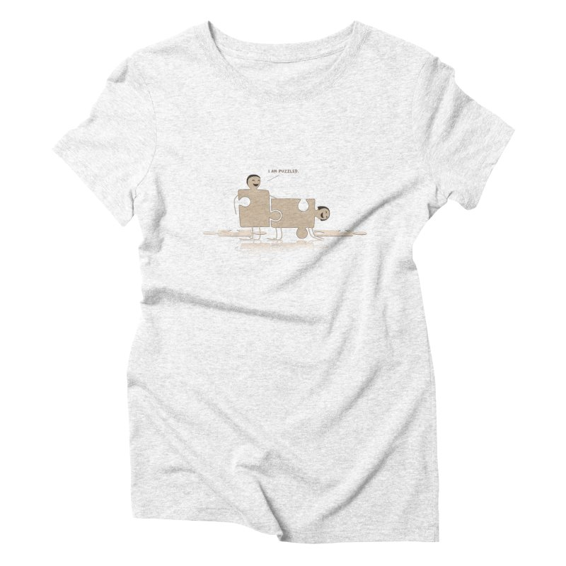 Solving the puzzle, gone wrong. Women's Triblend T-shirt by Diardo's Design Shop