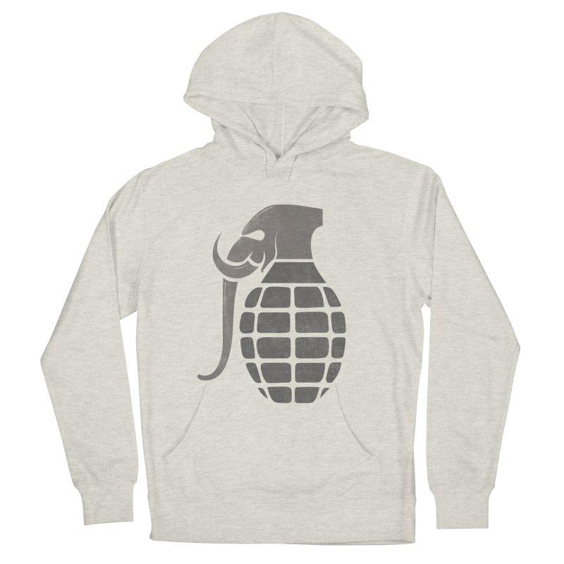 Elephant Grenade Women's Pullover Hoody by Diardo's Design Shop