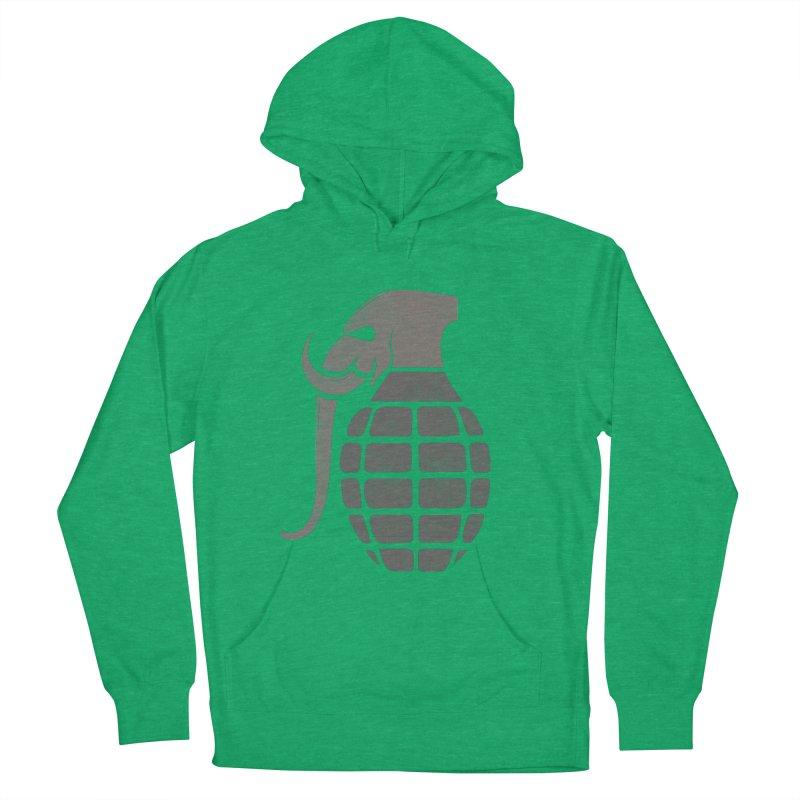 Elephant Grenade Men's Pullover Hoody by Diardo's Design Shop