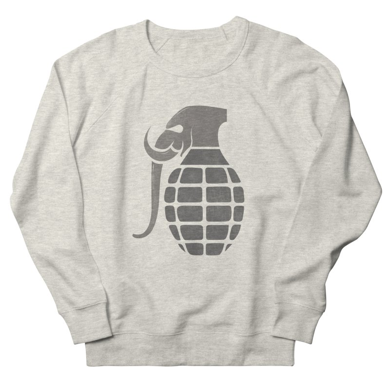 Elephant Grenade Women's Sweatshirt by Diardo's Design Shop