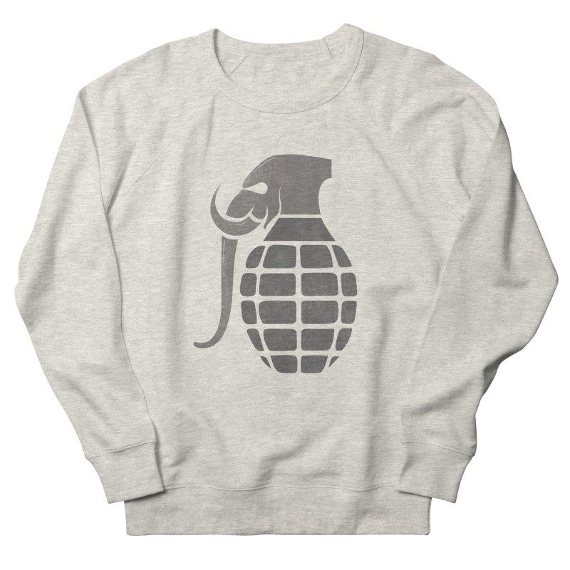 Elephant Grenade Men's Sweatshirt by Diardo's Design Shop