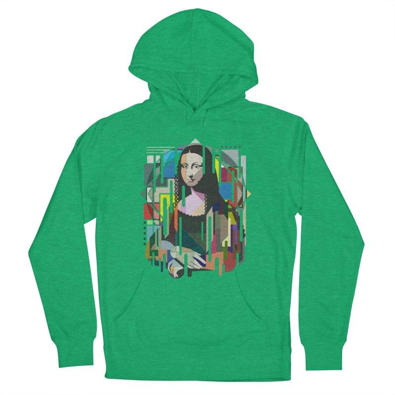 Monalisa met Picasso Women's Pullover Hoody by Diardo's Design Shop