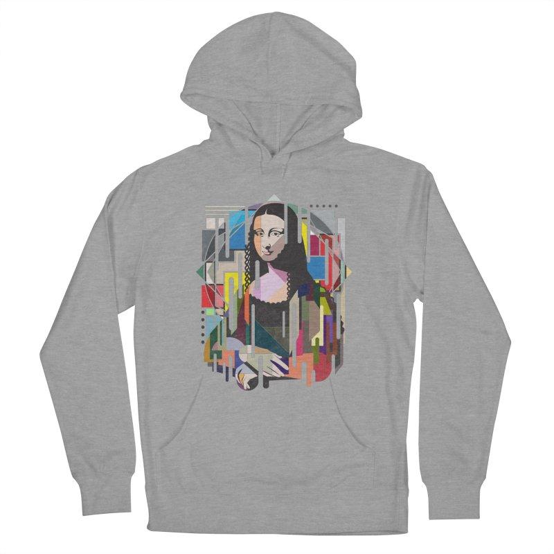 Monalisa met Picasso Men's Pullover Hoody by Diardo's Design Shop