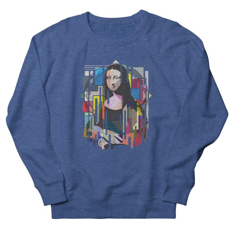 Monalisa met Picasso Men's Sweatshirt by Diardo's Design Shop
