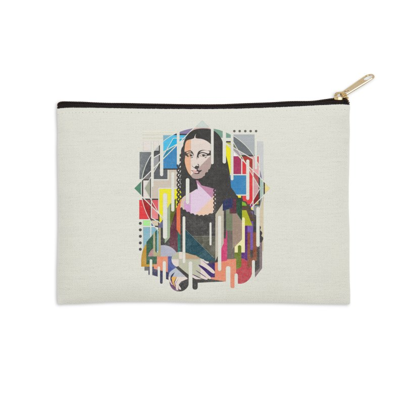 Monalisa met Picasso Accessories Zip Pouch by Diardo's Design Shop