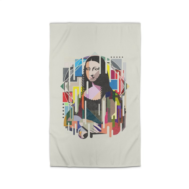 Monalisa met Picasso Home Rug by Diardo's Design Shop
