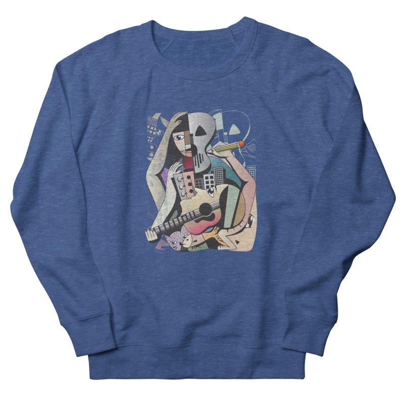Music, Art and Life Women's Sweatshirt by Diardo's Design Shop