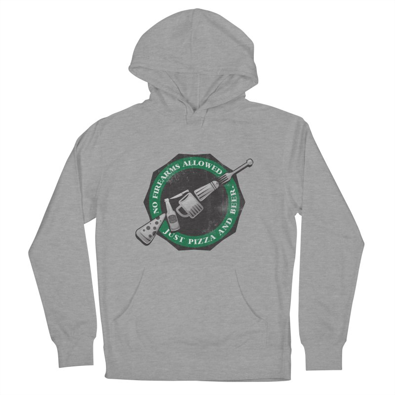 Just Pizza and Beer Women's French Terry Pullover Hoody by Diardo's Design Shop