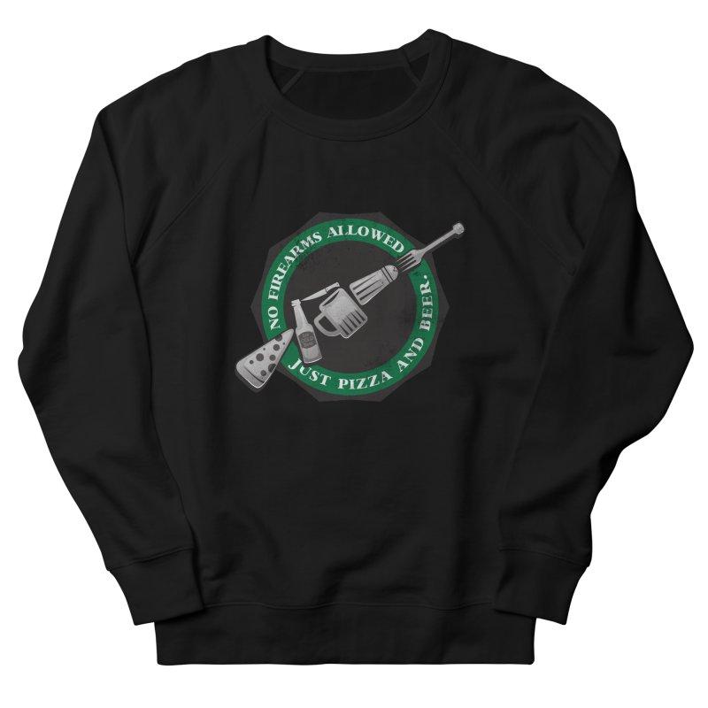 Just Pizza and Beer Men's Sweatshirt by Diardo's Design Shop