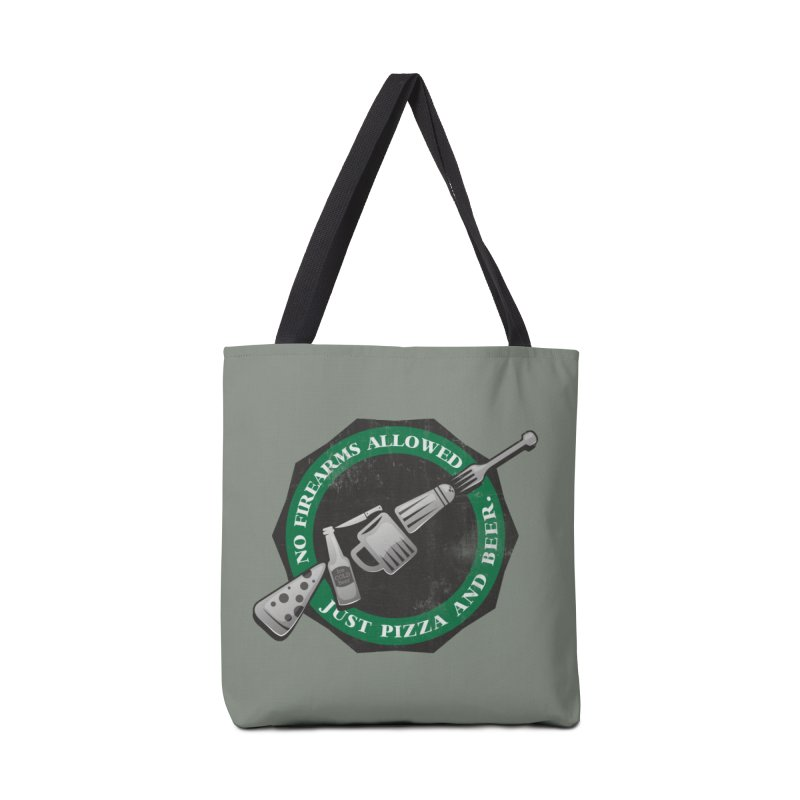 Just Pizza and Beer Accessories Tote Bag Bag by Diardo's Design Shop