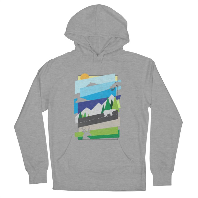 Beautiful Wild Women's Pullover Hoody by Diardo's Design Shop