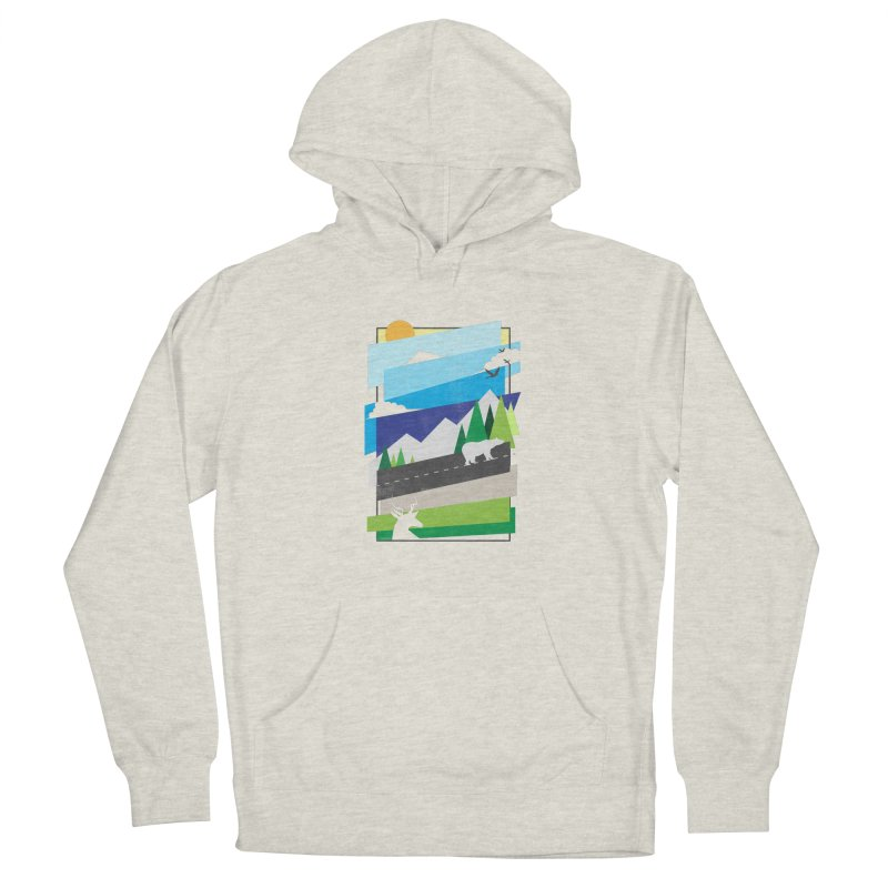 Beautiful Wild Men's Pullover Hoody by Diardo's Design Shop