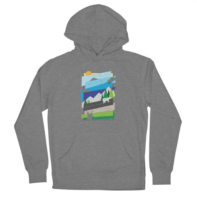 Beautiful Wild Men's Pullover Hoody by Diardo's Design Shop