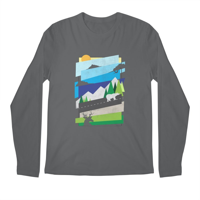 Beautiful Wild Men's Regular Longsleeve T-Shirt by Diardo's Design Shop