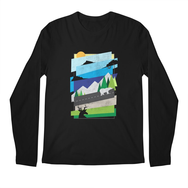 Beautiful Wild Men's Longsleeve T-Shirt by Diardo's Design Shop