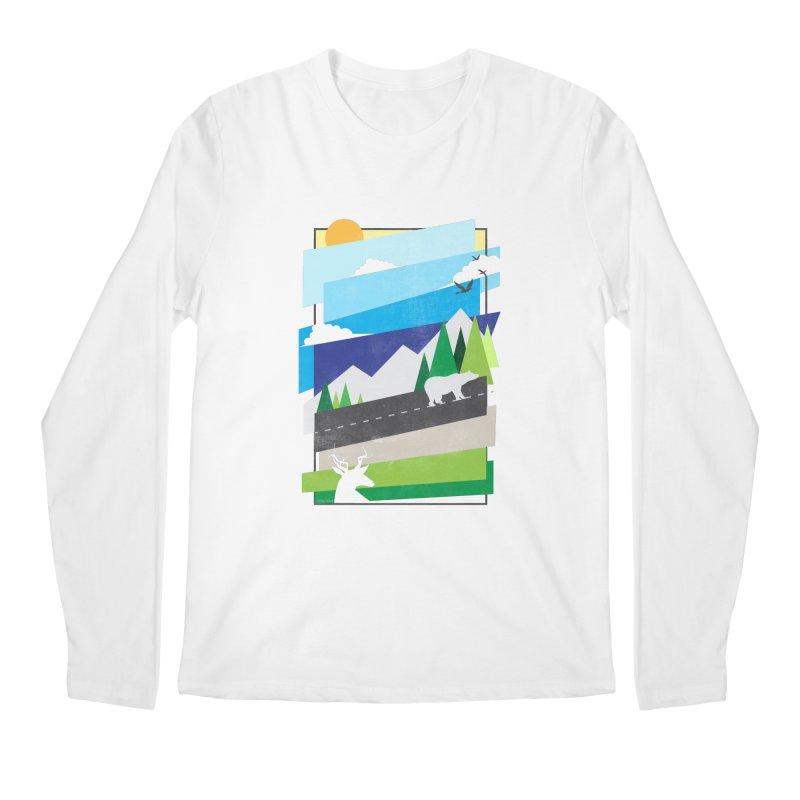 Beautiful Wild Men's Longsleeve T-Shirt by Diardo's Design Shop