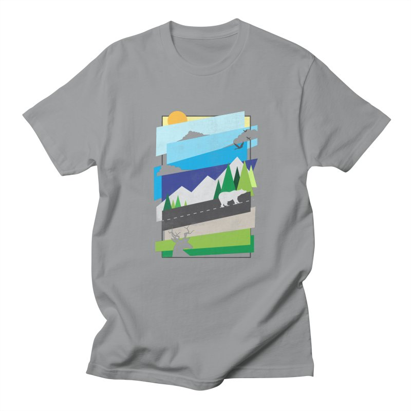 Beautiful Wild Men's Regular T-Shirt by Diardo's Design Shop