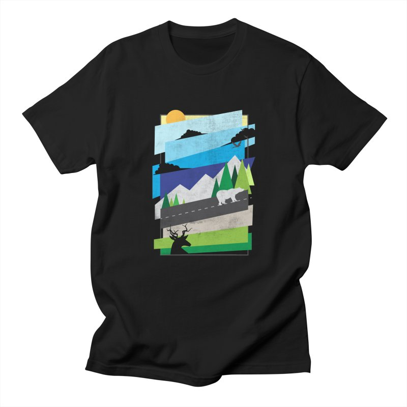 Beautiful Wild Women's Unisex T-Shirt by Diardo's Design Shop