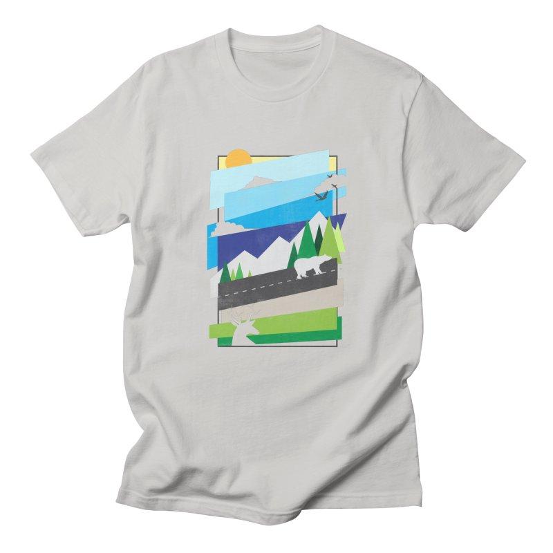Beautiful Wild Women's Regular Unisex T-Shirt by Diardo's Design Shop