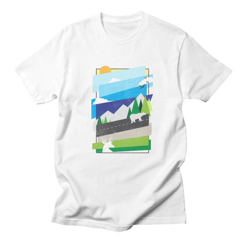 Beautiful Wild Men's Regular T-Shirt by Diardo's Design Shop