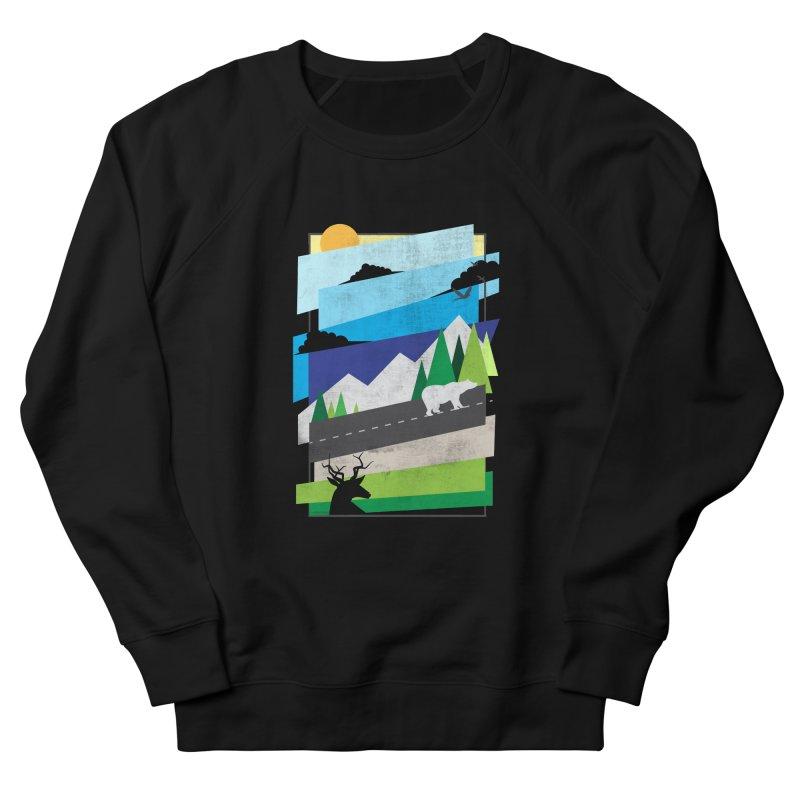 Beautiful Wild Women's French Terry Sweatshirt by Diardo's Design Shop
