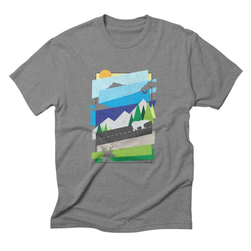 Beautiful Wild Men's T-Shirt by Diardo's Design Shop