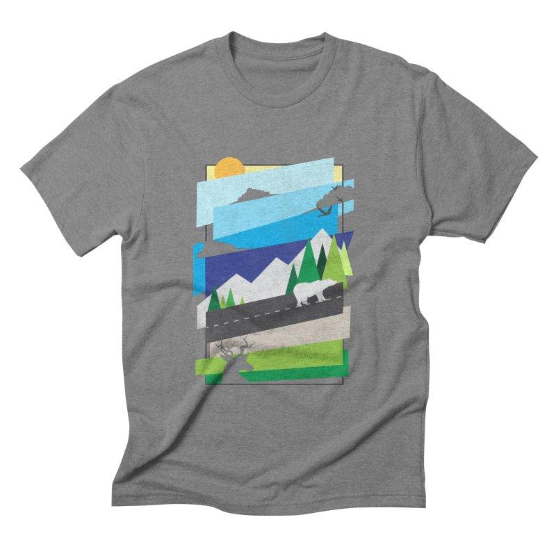 Beautiful Wild Men's Triblend T-shirt by Diardo's Design Shop