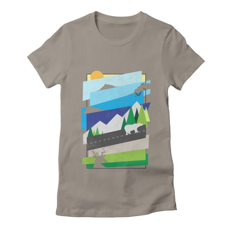 Beautiful Wild Women's T-Shirt by Diardo's Design Shop