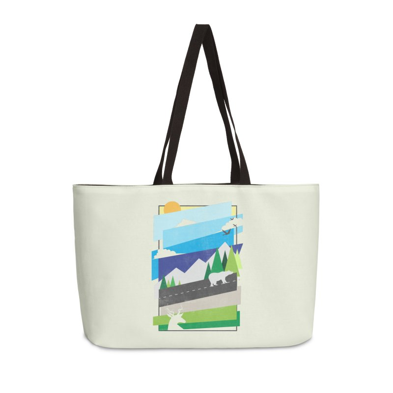 Beautiful Wild Accessories Weekender Bag Bag by Diardo's Design Shop