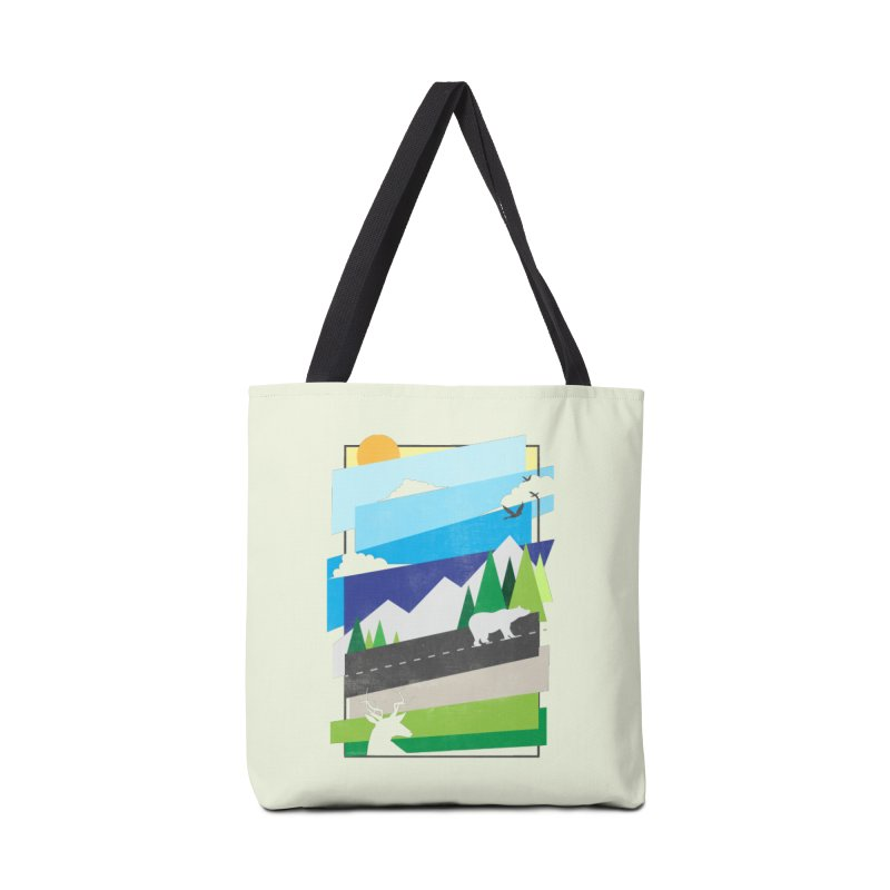 Beautiful Wild Accessories Tote Bag Bag by Diardo's Design Shop
