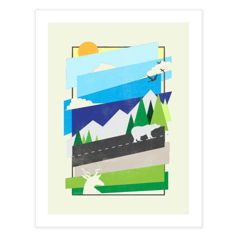Beautiful Wild Home Fine Art Print by Diardo's Design Shop