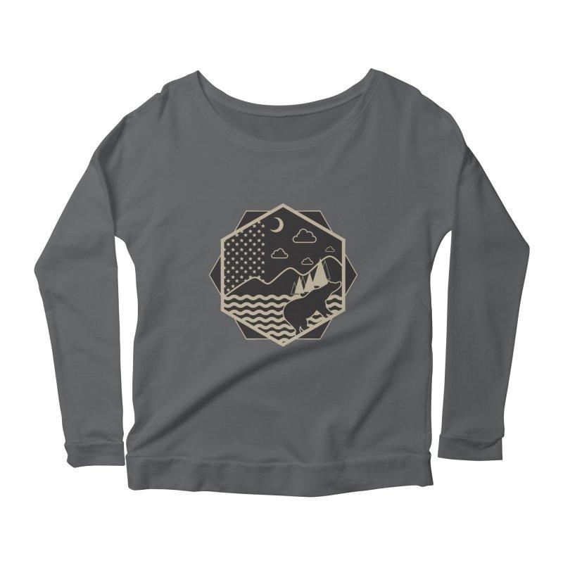 A night on the Wild Women's Longsleeve T-Shirt by Diardo's Design Shop