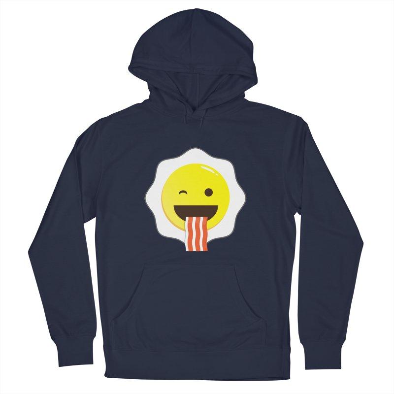 Breakfast Wink Men's Pullover Hoody by Diardo's Design Shop