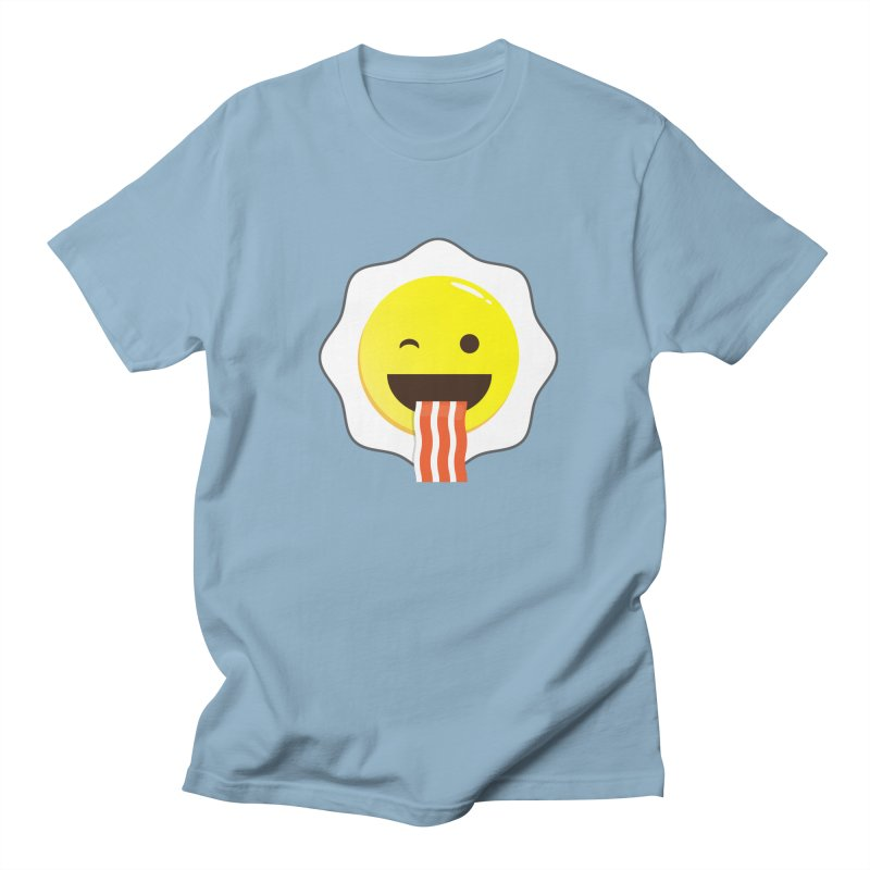 Breakfast Wink Men's T-Shirt by Diardo's Design Shop