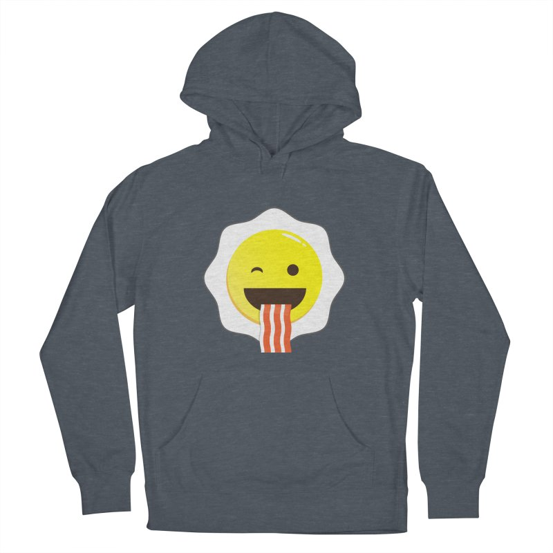 Breakfast Wink Women's French Terry Pullover Hoody by Diardo's Design Shop