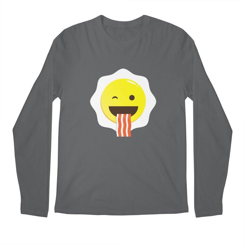 Breakfast Wink Men's Longsleeve T-Shirt by Diardo's Design Shop