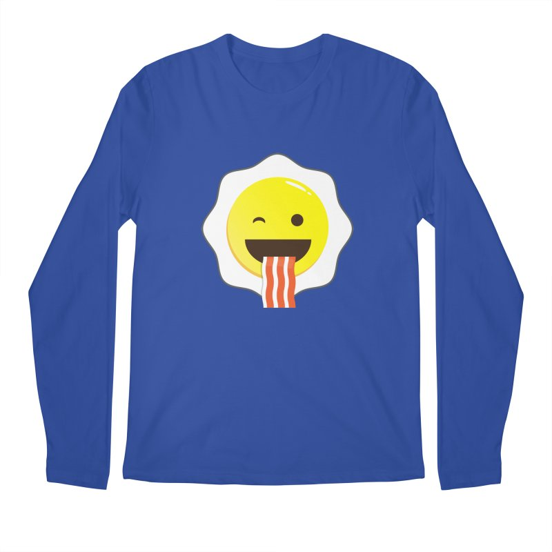 Breakfast Wink Men's Longsleeve T-Shirt by Diardo's Design Shop