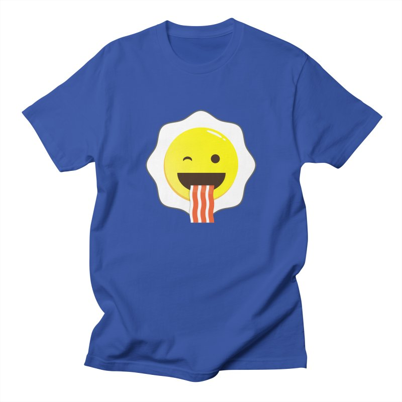 Breakfast Wink Men's T-Shirt by Diardo's Design Shop
